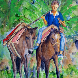 Patricia Beebe - Riding Home