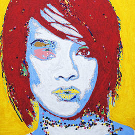 Rihanna  by Stormm Bradshaw