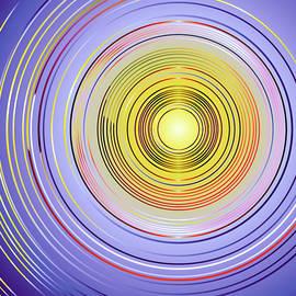Purple Rings by Grace Iradian