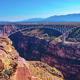 Rio Grande Gorge And Bridge III   by Steven Ainsworth