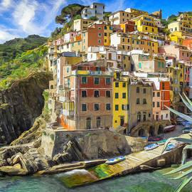 Riomaggiore - Cinque Terre by Dominic Piperata