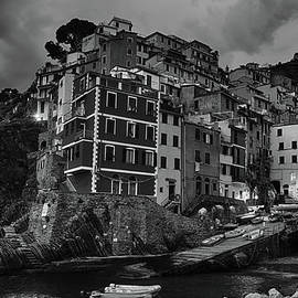 Joan Carroll - Riomaggiore Night BW