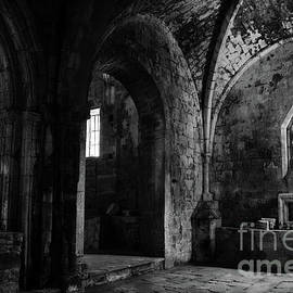 RicardMN Photography - Rioseco Abandoned Abbey Chapels BW
