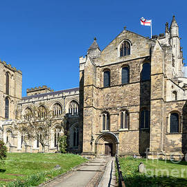 Ripon Cathedral in Spring