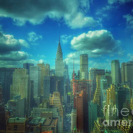 Rise and Shine - Chrysler Building New York by Miriam Danar