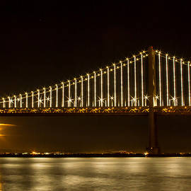 Bonnie Follett - Rising Moon Under the Bay Bridge