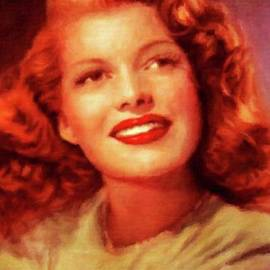 Rita Hayworth, Vintage Actress by Mary Bassett - Mary Bassett