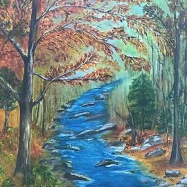 Judy Jones - River Bend in Autumn