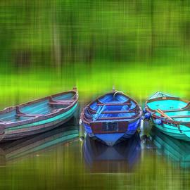 Debra and Dave Vanderlaan - River Boats Dreamscape