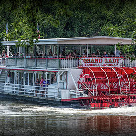 Randall Nyhof - River Cruise with the Grand Lady Paddle Wheel Boat on the Grand River