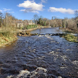 John Carver - River Drowse at Kinlough, Leitrim - one of the best trout and salmon fishing rivers in Ireland