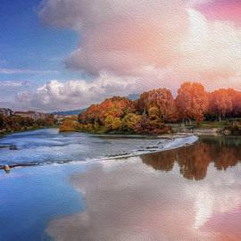 Carol Japp - River Po Turin Italy
