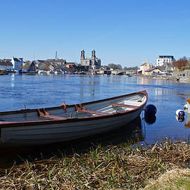 River Shannon At Athlone by David Birchall