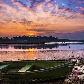 River Sunrise by Svetlana Sewell