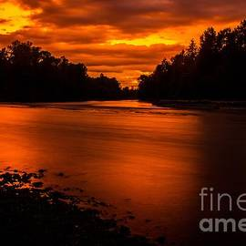 Michael Cross - River sunset 2