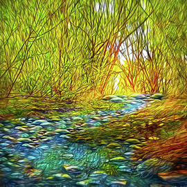 Joel Bruce Wallach - River Through The Woods