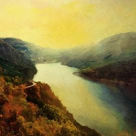 RC deWinter - River Valley Sunrise