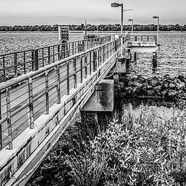 Yvette Wilson - Riverfront Park Black and White Edit