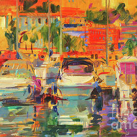 Peter Graham - Riviera Harbor Sun