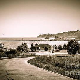 Mary Machare - Road to the Harbor - Lake Michigan