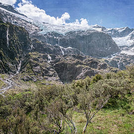Joan Carroll - Rob Roy Glacier New Zealand