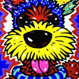 Robert The Terrier by Jackie Carpenter