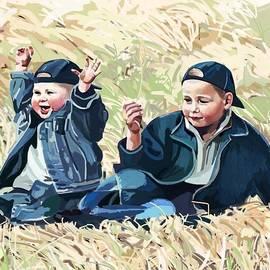 Plum Ovelgonne - Robin and Leon