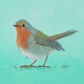 Jan Matson - Robin bird painting