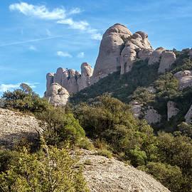 Joan Carroll - Rock Formations Montserrat Spain II