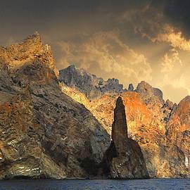Yuri Hope - Rock Ivan the Robber in Robber Bay, Crimea