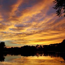 Denise Irving - Rock River Sunrise