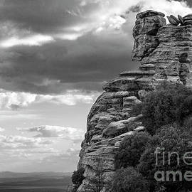 Cliff in the Clouds by Korrine Holt