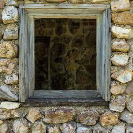 Jennifer White - Rock Wall Window