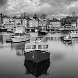 Susan Candelario - Rockport Harbor BW