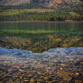 Rocks On The Bottom by Mitch Shindelbower