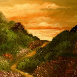Rocky Coast by Sandra Young  Servis