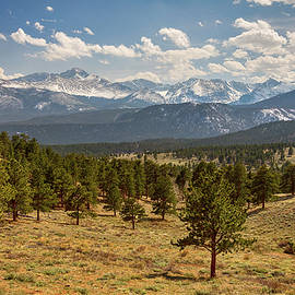 Rocky Mountain Afternoon High by James BO Insogna