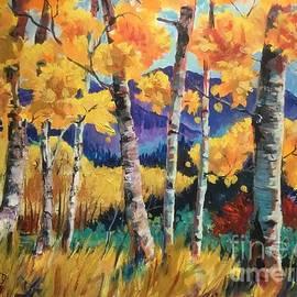 Lorraine Danzo - Rocky Mountain autumn
