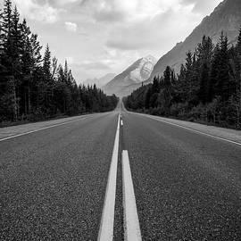 Matt Hammerstein - Rocky Mountain Highway Black and White