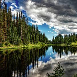 Rocky Mountain Lake Irene