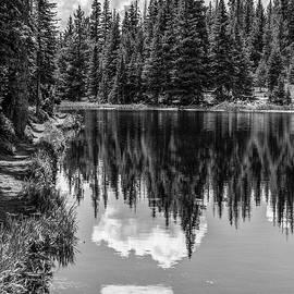 Rocky Mountain Reflection  by John McGraw