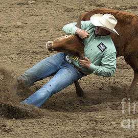 Bob Christopher - Rodeo Steer Wrestling 8