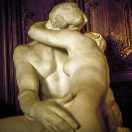 The Kiss Auguste Rodin 1840 -1917 in Colour by Cyril Jayant