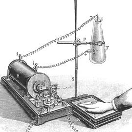 Roentgens X-ray Machine, 19th Century by Science Source