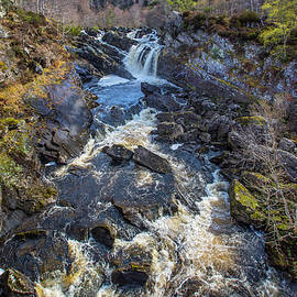 Rogie Falls by David Hare