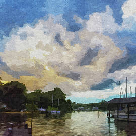 Brian Wallace - Rolling Clouds At Sunset - Paint FX