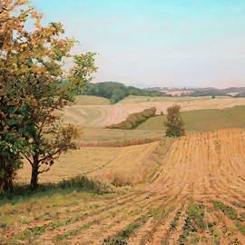 Bonnie Mason - Rolling Farmland - Sunflower Farm Buchanan Virginia