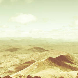 Jorgo Photography - Wall Art Gallery - Rolling rural hills of Zeehan