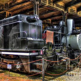 Reid Callaway - Rolling Stock Central Of Georgia Locamotive Train Art