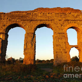 Roman Aqueduct by Alessandro Nesci